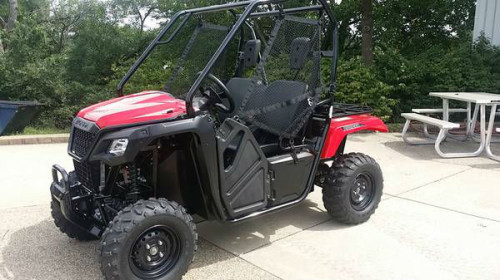2015 honda pioneer 500 utv 4x4 for Cupi s motor mall north pekin il