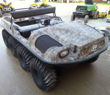 Argo 8x8 Frontier 650 Amphibious Vehicle 1